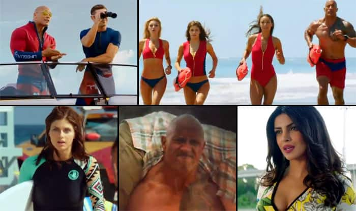 Dwayne Johnson's 'senses' are tingling in NSFW Baywatch trailer