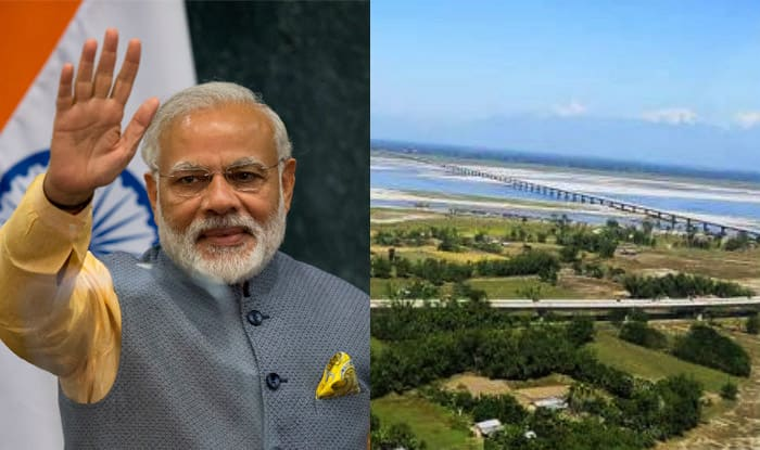 Image result for pm will inaugurate country's largest bridge