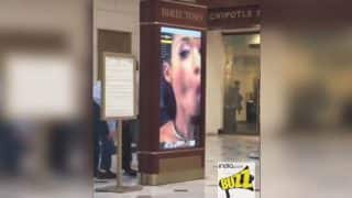 PornHub video clip blasts on screen at Union Station in Washington DC; officials investigating the case!