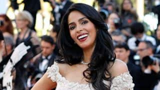 Mallika Sherawat stuns in a mermaid silhouette gown at the Cannes Film Festival 2017!