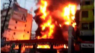 पटना के मॉल में लगी भीषण आग, करोड़ों की संपत्ति हुई जलकर राख
