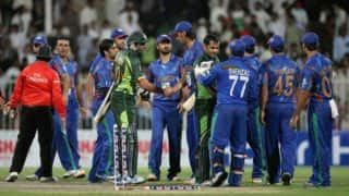 Afghanistan to host Pakistan for debut T20 match in Kabul