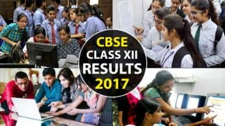 cbseresults.nic.in CBSE Class 12th Results 2017 Declared: Check your roll number wise scorecard and marks now on cbse.nic.in
