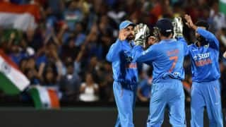 IND 127/3 in 25 overs | India vs New Zealand ICC Champions Trophy 2017 warm-up match live score: Play stopped due to rain