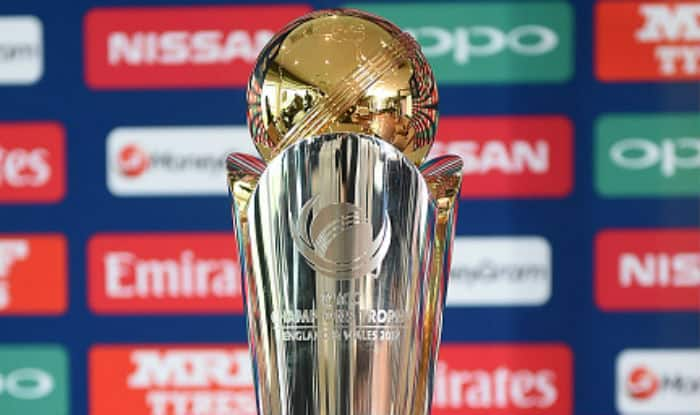ICC Champions Trophy Pictured During Its Launch