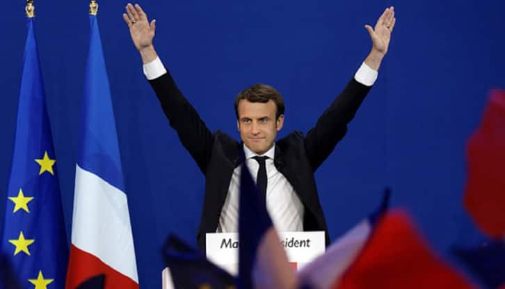 Macron to be sworn in as president on Sunday