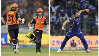 IPL 2017: सनराइजर्स हैदराबाद और मुंबई इंडियंस में मुकाबला, यहां से देख सकते हैं मैच का सीधा प्रसारण