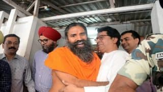 Baba Ramdev meets Raj Thackeray; MNS chief hails yoga guru for promoting Hindu traditions