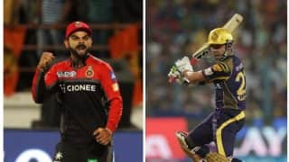 IPL 2017: रॉयल चैलेंजर्स बैंगलोर और कोलकाता नाइटराइडर्स में मुकाबला, यहां से देख सकते हैं मैच का सीधा प्रसारण