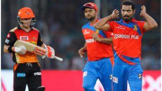 IPL 2017: सनराइजर्स हैदराबाद ने गुजरात लायंस को 8 विकेट से हराया
