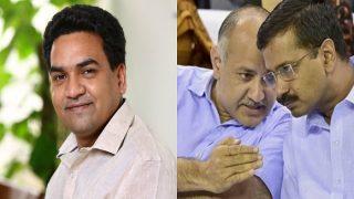 Delhi Cabinet rejig: Kapil Mishra, aide of Kumar Vishwas, sacked by Chief Minister Arvind Kejriwal