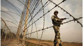 Watch video: Pakistan violates ceasefire along LoC in J&K's Naushera sector; 1 civilian feared dead