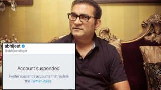 Exploring the truth about Twitter and Abhijeet's account suspension