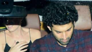 Aditya Roy Kapur spotted chilling with a pretty woman! View HQ Pics