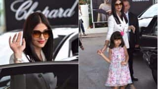 Aishwarya Rai Bachchan takes Aaradhya for an outing in Cannes - watch video