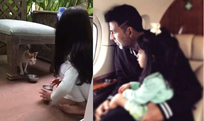 Akshay Kumar gives humanity lessons to daughter Nitara ...