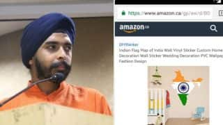 Wrong Indian map sold on Amazon Canada! After Tri-colour doormat, BJP leader lambasts e-com website for selling distorted Map of India