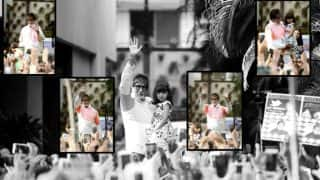 Aww! When Aaradhya confessed being scared seeing grandpa Amitabh Bachchan's fans