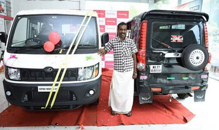 Mahindra Gifts Mini Truck to Man With a Scorpio-Lookalike Auto