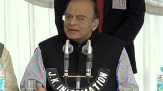 Arun Jaitley urges Mehbooba Mufti to roll-out GST from July 1