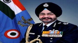 IAF chief B S Dhanoa asks officers to 'be prepared for combat at short notice'