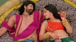वीडियो: भल्लालदेव के साथ रोमांस करती हुई दिखी देवसेना, यूट्यूब पर गाना हुआ वायरल