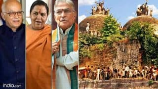 Babri Masjid demolition case: Court fixes criminal conspiracy charges against L K Advani, others - 10 updates