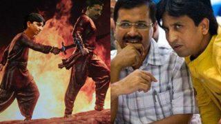 Kumar Vishwas-Arvind Kejriwal's AAP crisis over but Bahubali 2 inspired Kattappa killed Baahubali meme seems like a memorable affair!
