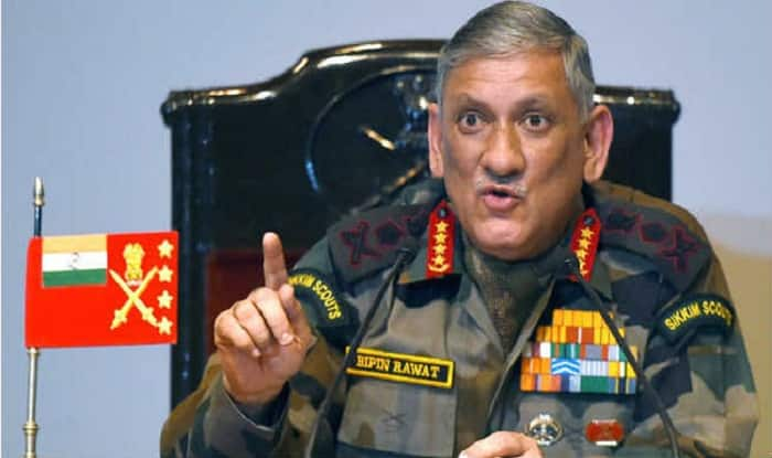 Army chief Gen Bipin Rawat (file image)