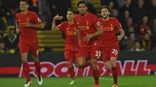 EPL 2016-17: Liverpool on course to finish in top four after win against Watford