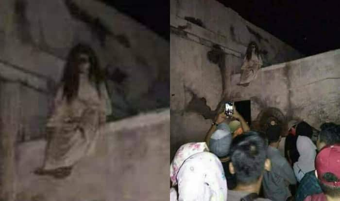Chudail from Hyderabad goes viral! See pic of the freaky Ghost in White scare India-Pakistan social media buffs