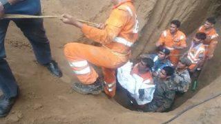 Madhya Pradesh: 5-year-old boy Satyam dies after being rescued from 100-feet deep borewell