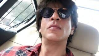 Yet another proof that Shah Rukh Khan is happy being a workaholic!