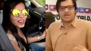 Dhinchak Pooja gets Arnab Goswami's priceless reaction on her viral song Selfie Maine Leli Aaj video!