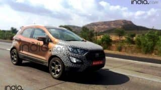 Ford EcoSport 2017 spy images reveal new red colour option; Expected launch date, price & features