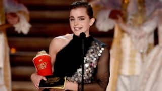 Emma Watson wins first gender-neutral MTV Award 2017 for Beauty & the Beast (Watch Video)