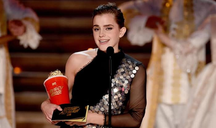 Emma Watson Thanks Belle After Winning First Ever Gender-Free MTV Award