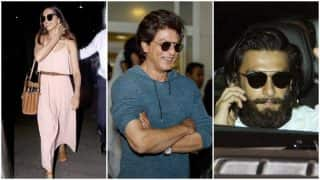 This is what Shah Rukh Khan, Deepika Padukone and Shahid Kapoor were up to while Bollywood was at Justin Bieber's concert