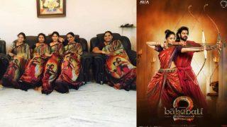 फिल्म के बाद अब बाहुबली साड़ी की मची धूम, रवीना टंडन ने भी किया ट्वीट