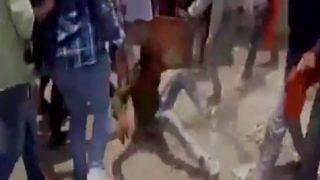 'Gau Rakshaks' brutally thrash man in Ujjain; watch video here