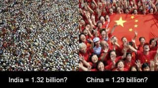 Which is world's most populated country, China or India? Academic claims India overtakes China as most populous nation