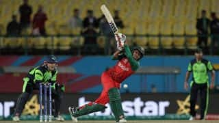 Stirling-Porterfield Partnership in Vain, Ireland Lose to Bangladesh