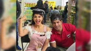 Varun Dhawan and Jacqueline Fernandez wrap the London schedule of Judwaa 2 - view pic