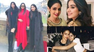 Mother's Day 2017: Jhanvi and Khushi's mommy Sridevi shares some intriguing facts about her much pampered girls