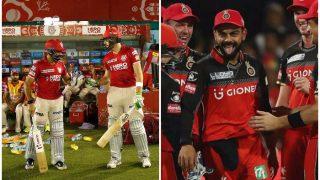 RCBvsKXIP IPL 10: जब पंजाब को 9 वें ओवर में नसीब हुआ पहला छक्का