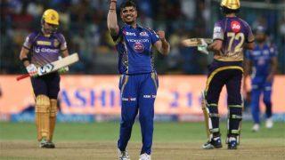 IPL 2017: मुंबई के खिलाफ लड़खड़ाई कोलकाता की पारी, बनाया इस सीजन का सबसे खराब रिकॉर्ड