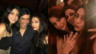 These inside pictures of Aishwarya Rai Bachchan, Shah Rukh Khan partying it out at Karan Johar's birthday bash are priceless