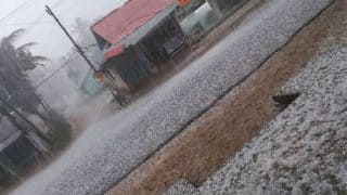Kerala's Wayanad district witnesses hailstorm, first in 25 years (See Pictures)