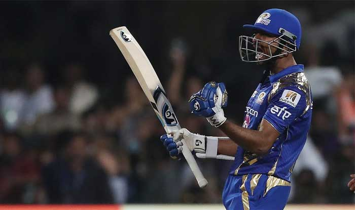 Krunal Pandya scored a crucial 38-ball 47 in the IPL 2017 final against Rising Pune Supergiant (BCCI Image)