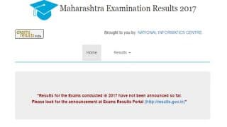 mahresult.nic.in Maharashtra HSC 12th Class Results 2017 Declare today, official notification from MBSHSE released: Information required to check your results